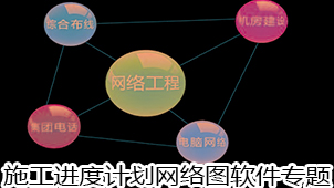 施工進度計劃網絡圖軟件專題