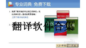 翻译专题软件