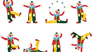 马戏团小丑专题