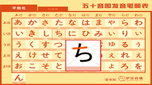 日语五十音图发音大全