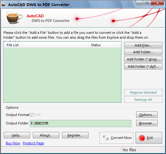 AutoCAD DWG to DXF Converter