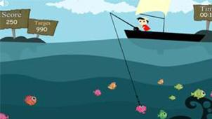钓鱼小游戏大全