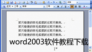 word2003