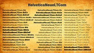 helvetica字体下载专题