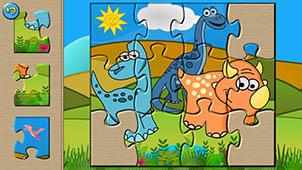 恐龙拼图大全
