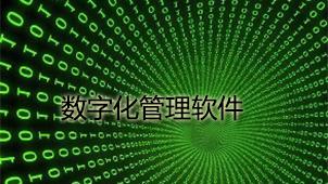 数字化管理软件