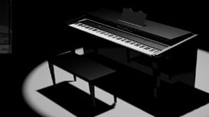 弹钢琴小游戏