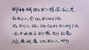 手写字专题