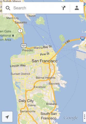 谷歌手机地图Google Maps S60 3rd