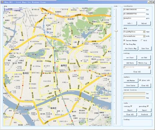 GoogleMap地图控件应用源码