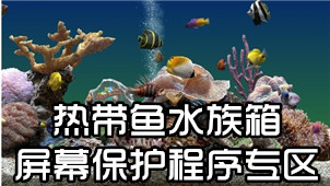 热带鱼水族箱屏幕保护程序专区