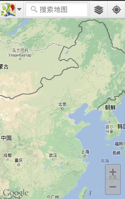 谷歌手机地图中国版 for symbian s60v3