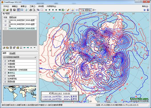 气象数据分析系统FreeMicaps