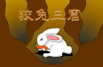 狡兔三窟大全