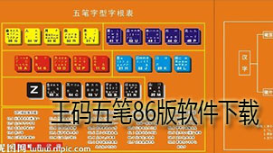 王码五笔86版软件下载