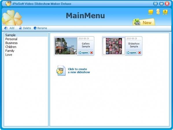 电子相册制作软件iPixSoftVideo