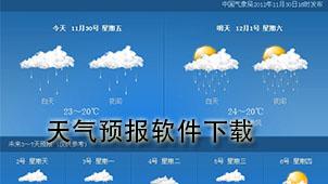 天气预报软件下载