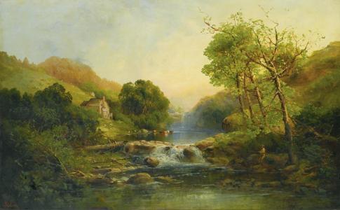 美丽的风景油画