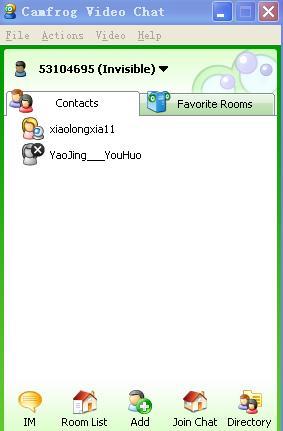 cf视频聊天软件(camfrog video chat)