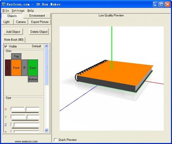 三维包装设计工具3D-boxmaker
