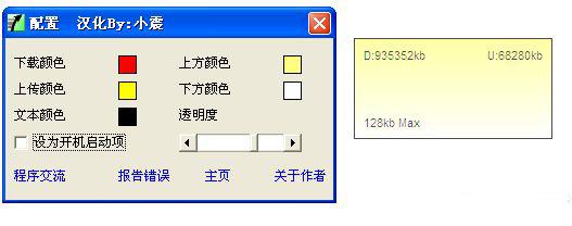 图形网络监视BandwidthMeter