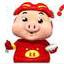 猪猪气死你QQ搞笑表情 免费版