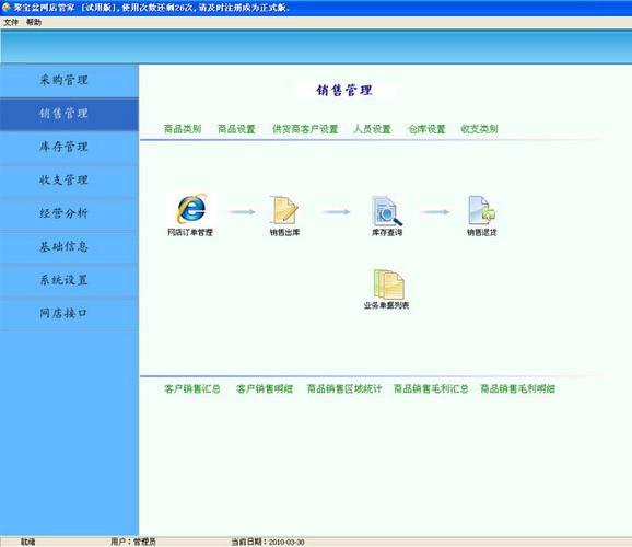 聚宝盆网店软件