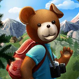 布置泰迪熊的小...