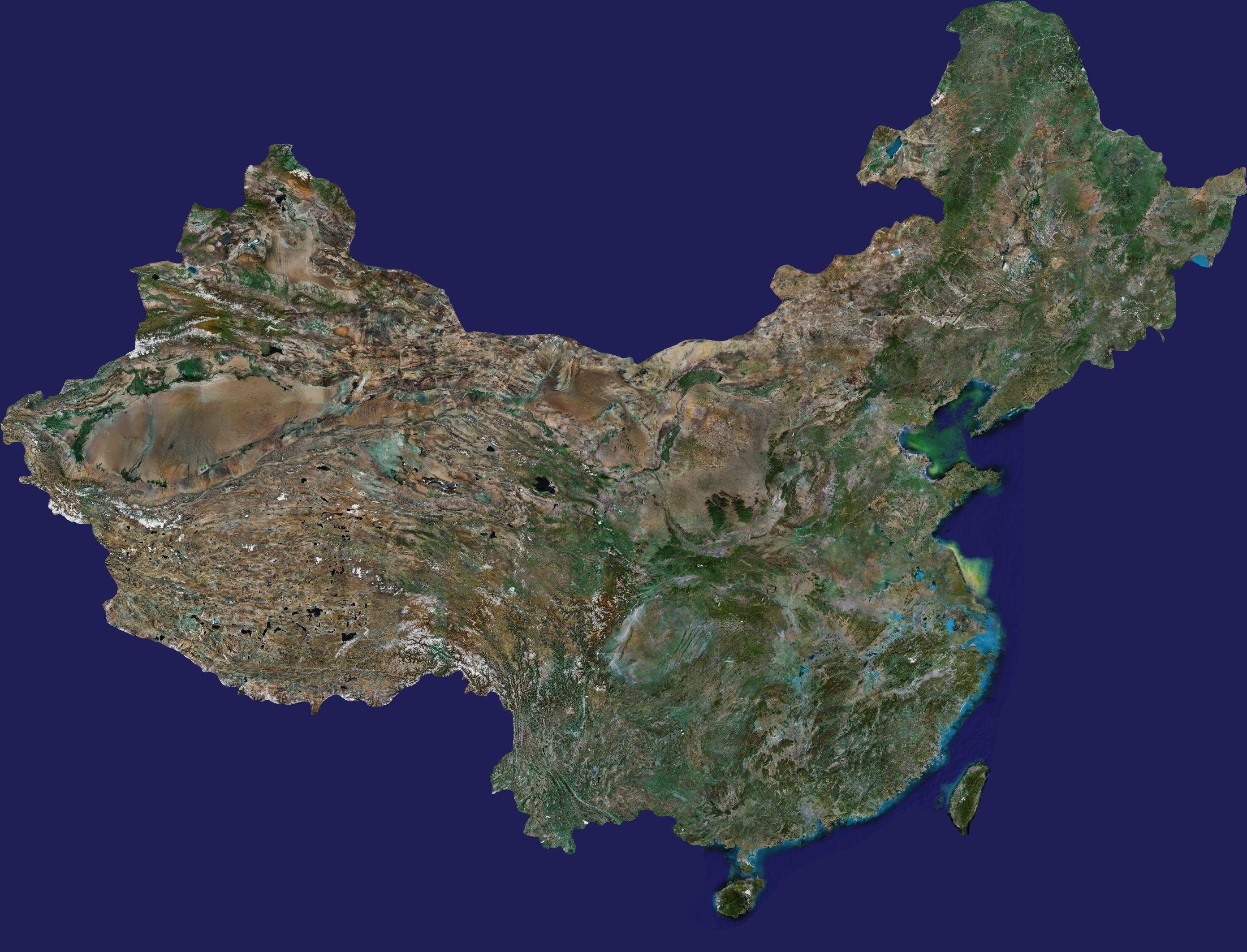 卫星地图大全