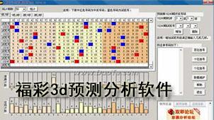 福彩3d预测分析软件