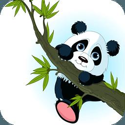小熊猫钓鱼