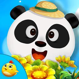 小熊猫农场种菜...