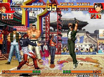 拳皇97游戏大全
