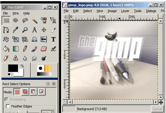 The GIMP For LUNIX