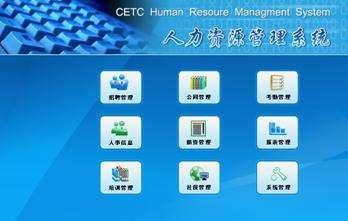 企业资源管理系统