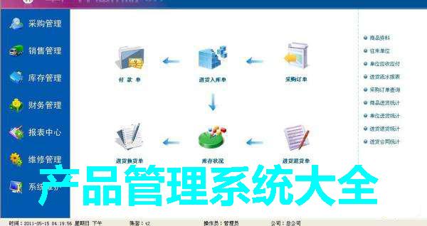 产品管理系统