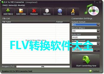 FLV转换软件大全