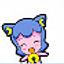 蓝色妮娜猫QQ表情 免费版
