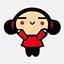 好动鬼中国娃娃qq表情 免费版