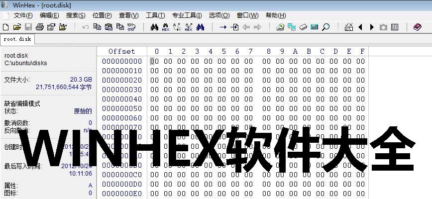 WINHEX软件大全