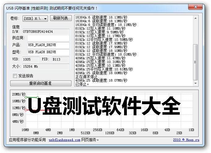 u盘测试软件