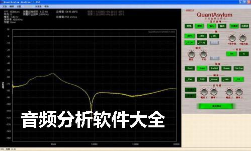 音频分析软件大全