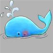 鲸鱼宝宝QQ表情 免费版