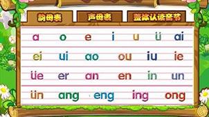 拼音字母表专题