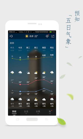 天气通功能介绍
