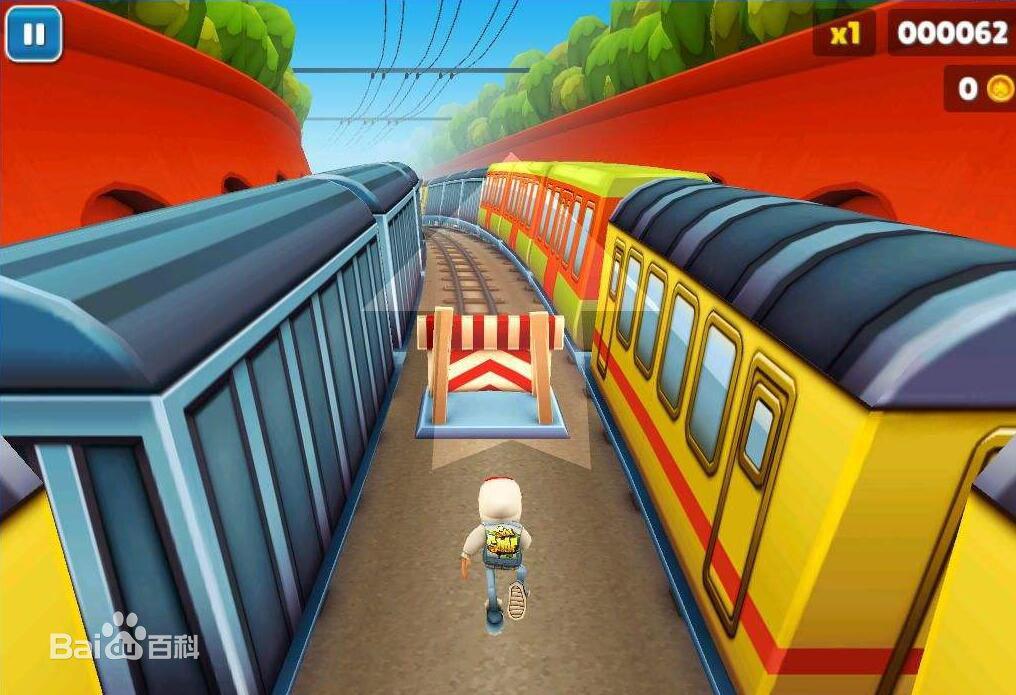 地铁跑酷小游戏