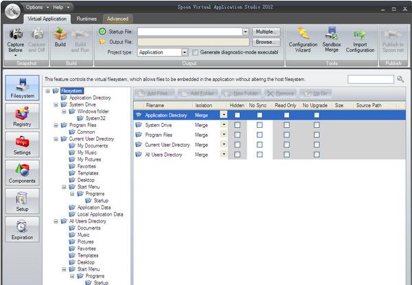 应用虚拟化软件(Spoon Virtual Application Studio)