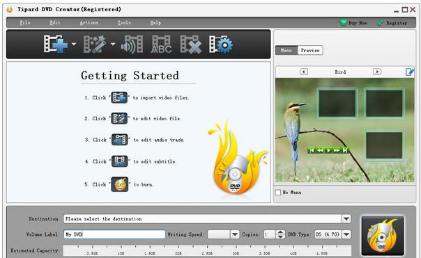 dvd制作软件(Tipard DVD Creator)