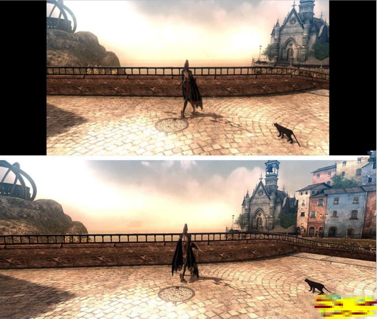 猎天使魔女PC版3440x1440全屏补丁