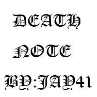 死亡笔记L专用字体